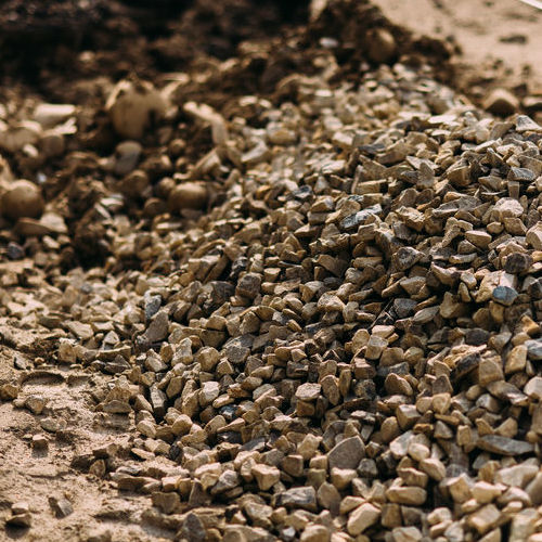 Gravel Comes in Various Grades for Paving.
